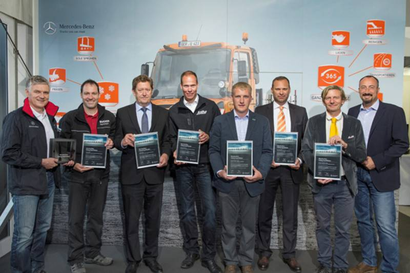 TRILETY BECAME MERCEDES BENZ UNIMOG EXPERT-PARTNER