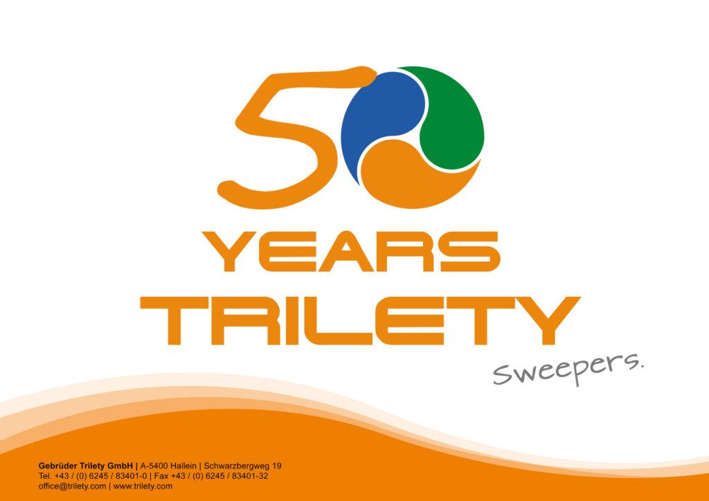 TRILETY FEIERT 50 JAHRE LKW-KEHRMASCHINEN